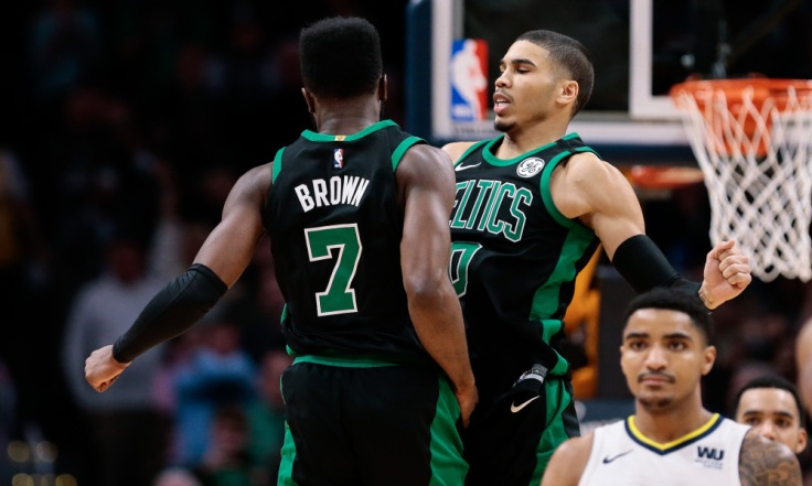 NBA: Boston Celtics at Denver Nuggets