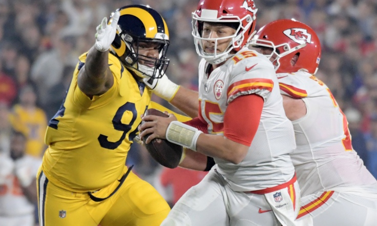 NFL: Kansas City Chiefs at Los Angeles Rams